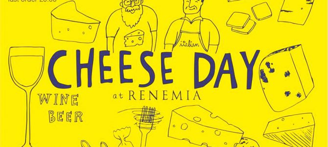 7/29(Sat) Cheese Day at RENEMIA