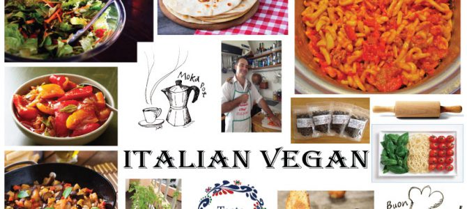 Italian Vegan cooking class at Taste of Okinawa